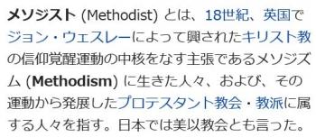 wikiメソジスト