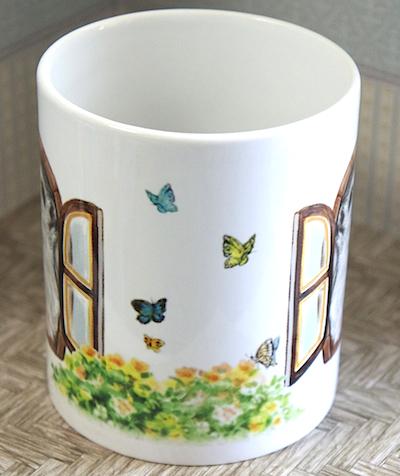 マグカップ白側面サンプル