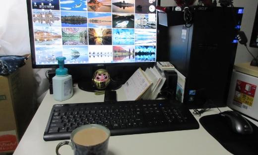 12月11日朝一服のミルクコーヒーと共に (520x313)