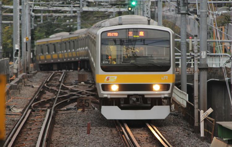 水道橋駅 E231系0番台