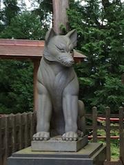 御嶽神社 狼