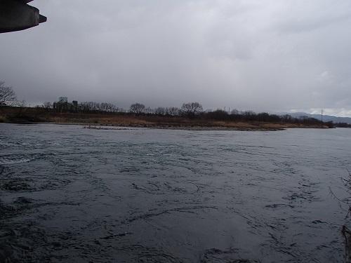 ②福井大橋下流右岸から下