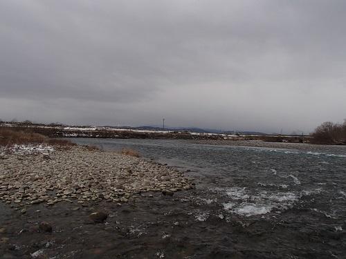 ⑰福井大橋上流左岸へ