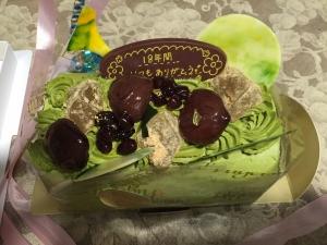 優衣ケーキ3