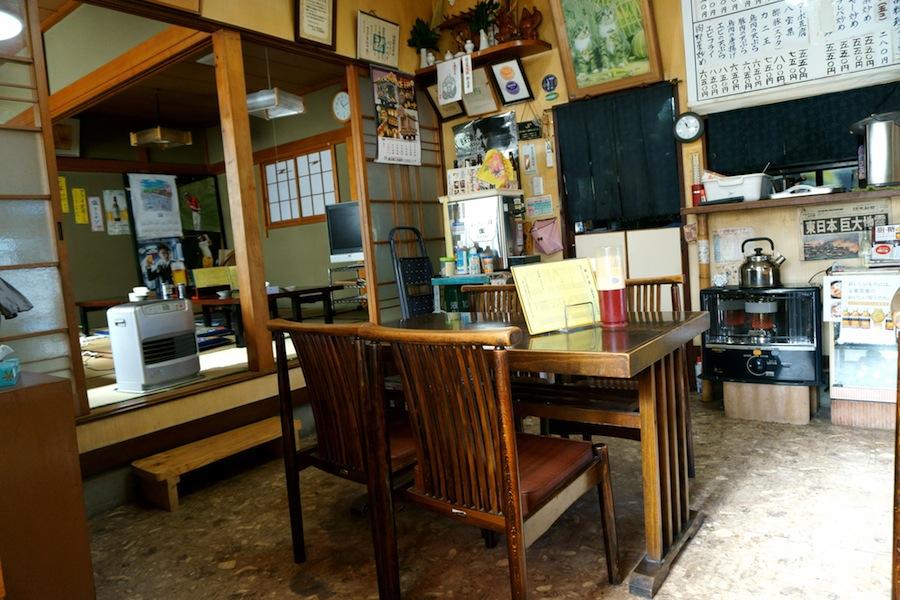 古峯神社から~の、大関食堂@鹿沼市下沢 大関食堂、店内