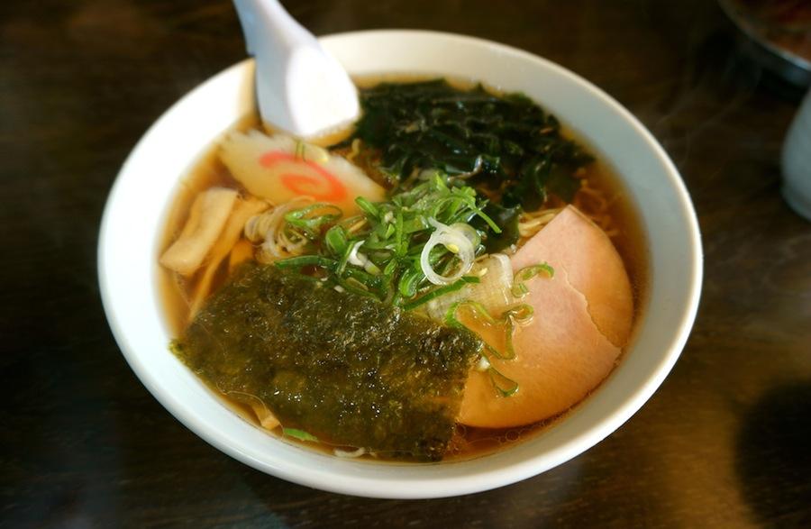古峯神社から~の、大関食堂@鹿沼市下沢 大関食堂、ラーメン