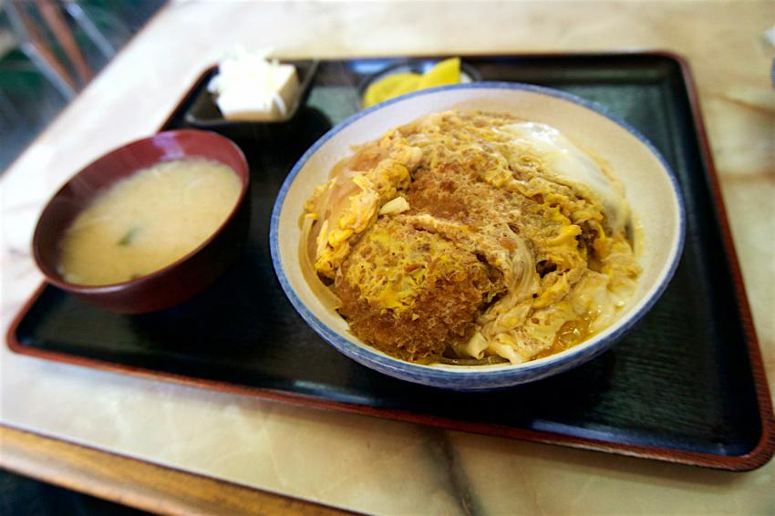 朱竹食堂@下野市下古山 2 カツ丼1