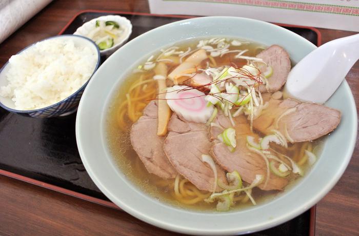 上海料理 大吉@鹿沼市千渡 チャーシュー麺1