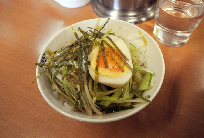 ラーメンショップ壬生店@壬生町本丸 ミニネギ丼