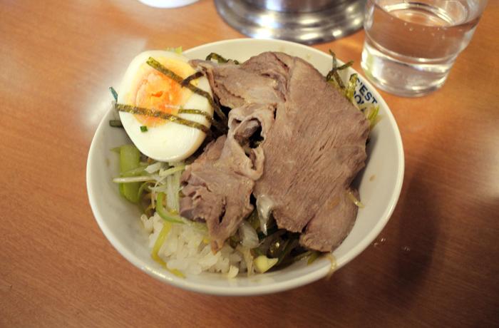 ラーメンショップ壬生店@壬生町本丸 Andy特製ネギチャーシュー丼