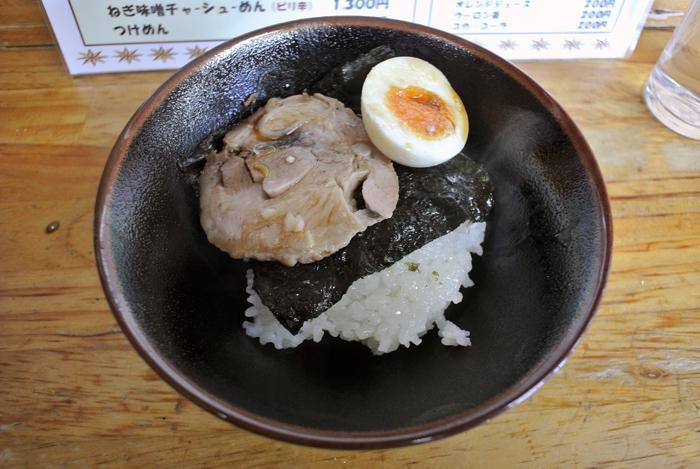 煮干しラーメン時代屋@宇都宮市中岡本 Andy特製チャーシュー丼