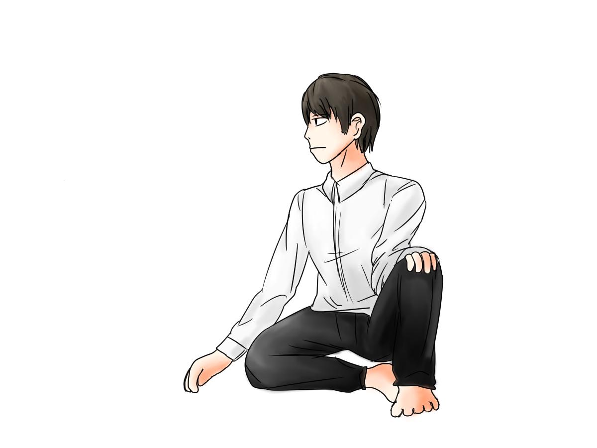 膝 座り 立て