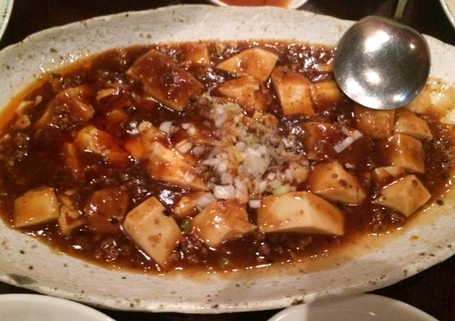 三宝茶楼20160104麻婆豆腐