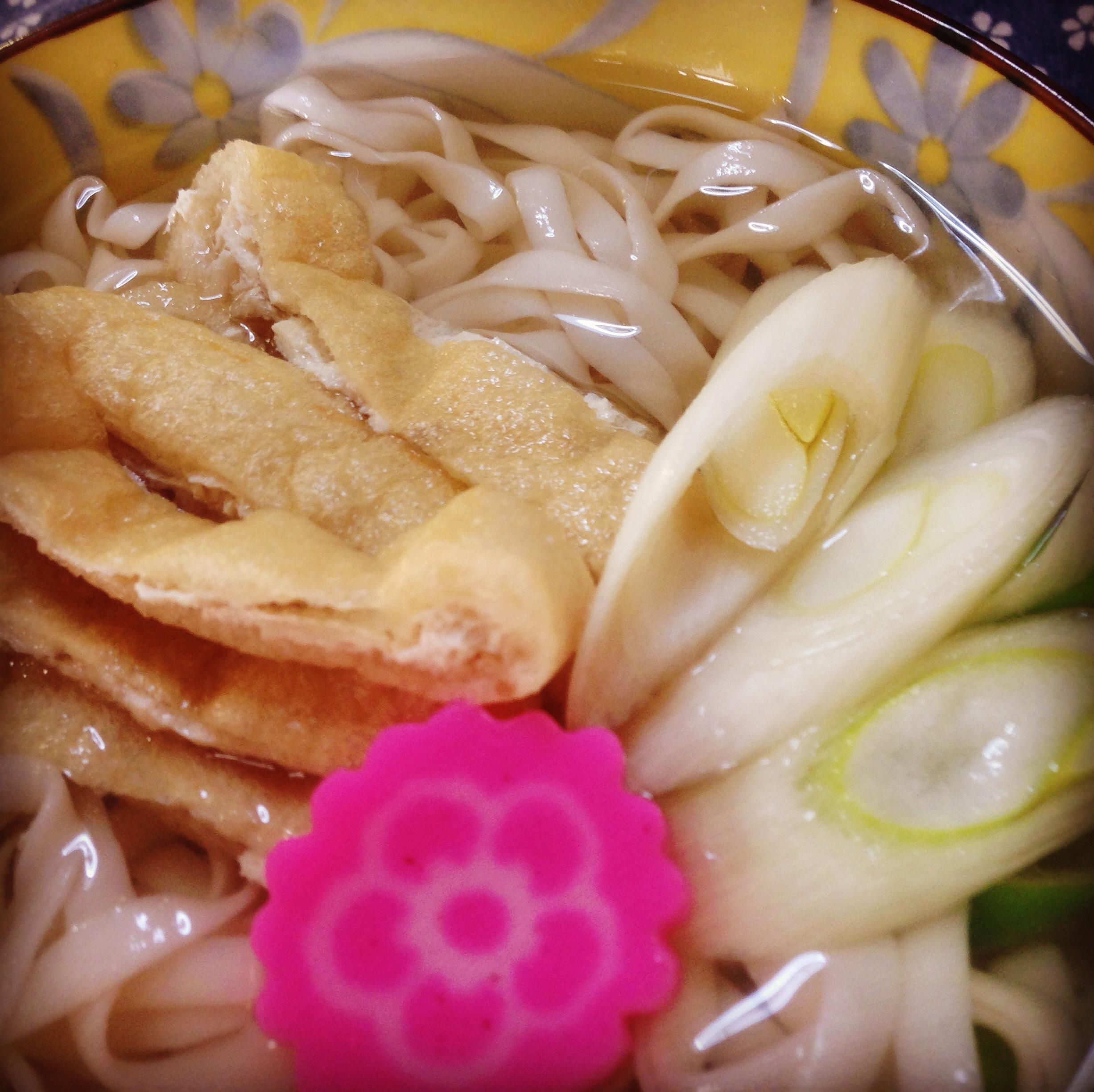 東京都中野区新井3-6-7麺の停車場楽麦舎 打ちたて生うどん 調理例