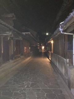 鞆の浦町夜