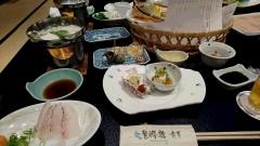 鞆の浦夕飯