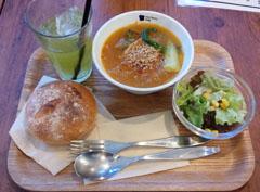 お昼ご飯 VBスープ