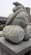 新年 白蛇神社1