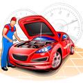 整備士と車