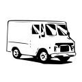 トラックの絵