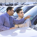新車の交渉