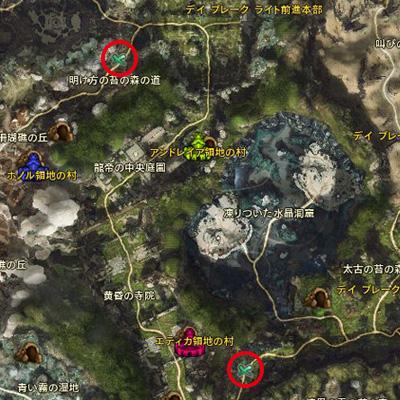 名誉の血戦MAP