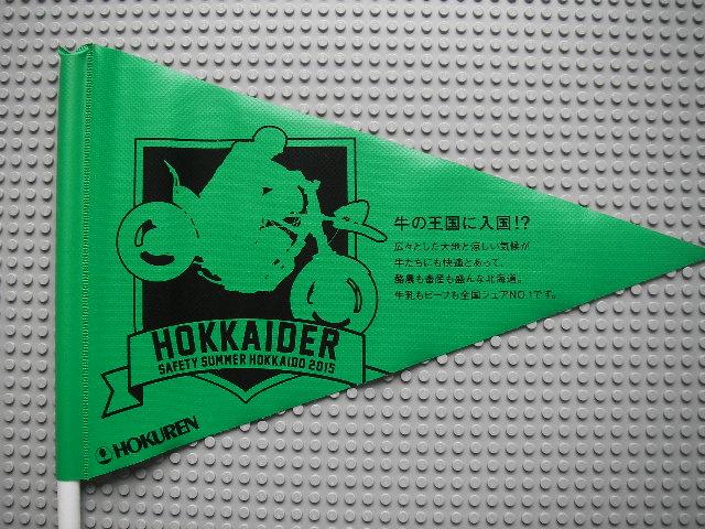 ホクレンフラッグ2015緑1