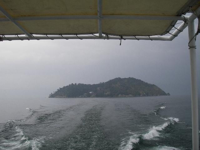 竹生島全景離島時201601