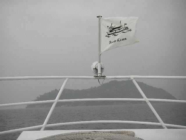 竹生島接近201601-1