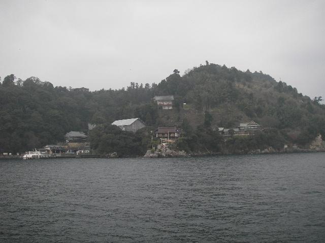 竹生島接近201601-2