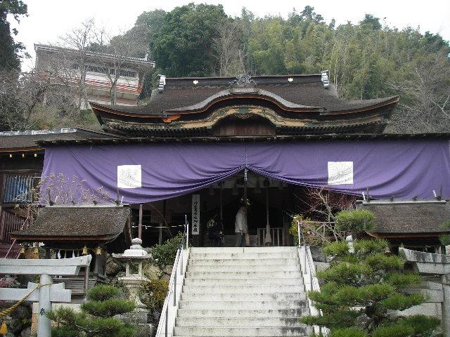 都久夫須麻神社本殿201601