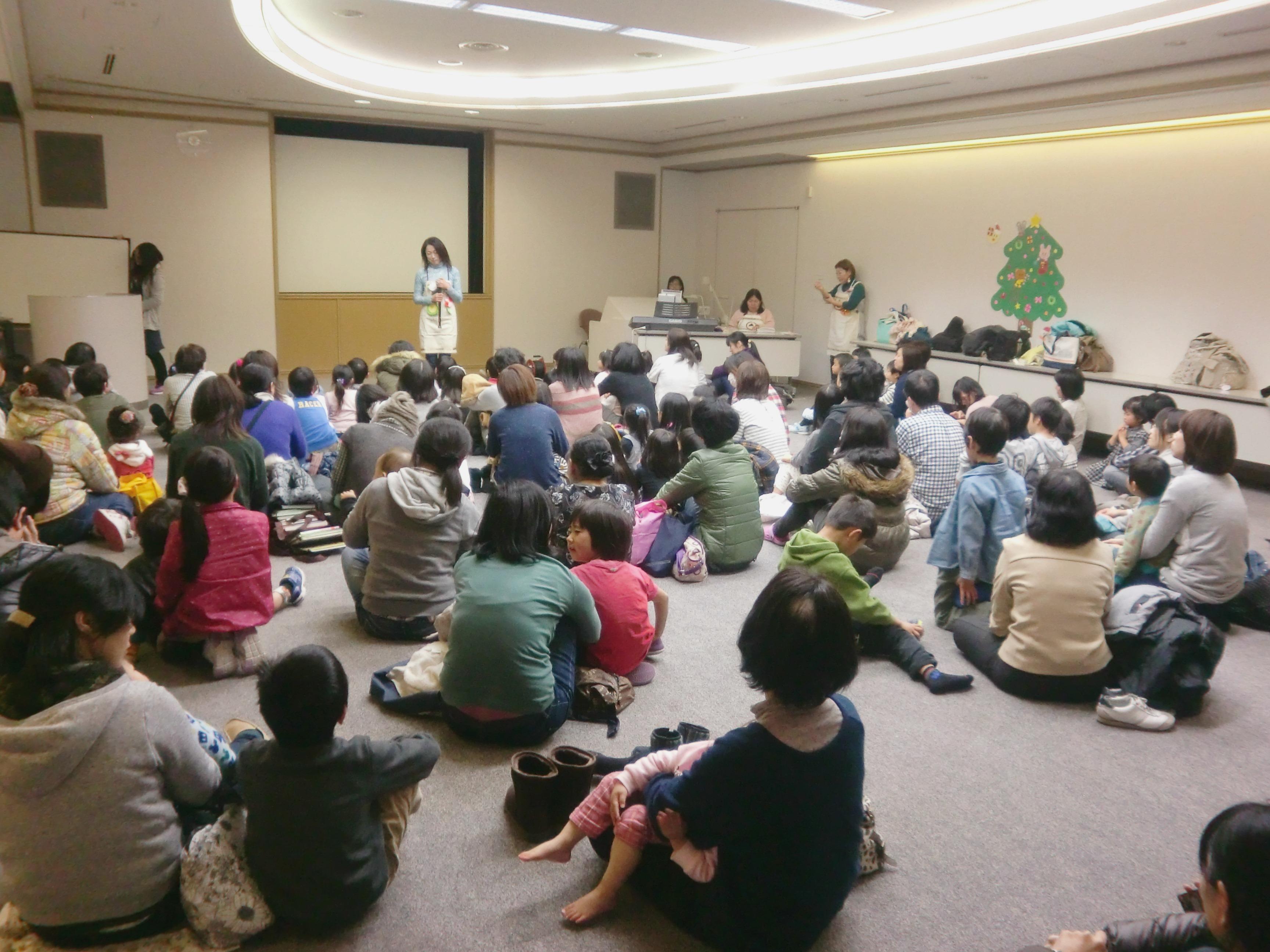 2015.12.19.図書館クリスマス会