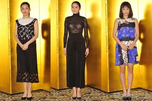 【画像あり】長澤まさみ、バストラインがはっきりとわかる黒のシースルードレスで魅了13