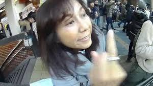 精神異常者・香山リカ「馬鹿野郎!豚野郎、死ね!」…中指を突き立てヘイトスピーチ【動画あり】2