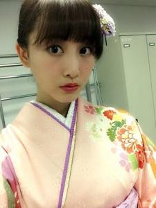 元SKE48・松井玲奈、着物姿が可愛いと話題
