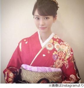 桐谷美玲、美しき晴れ着姿を披露