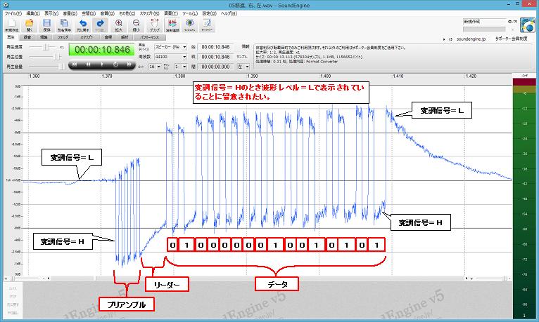 JOZENラジコン(TOYOTA86)プロトコル分析2