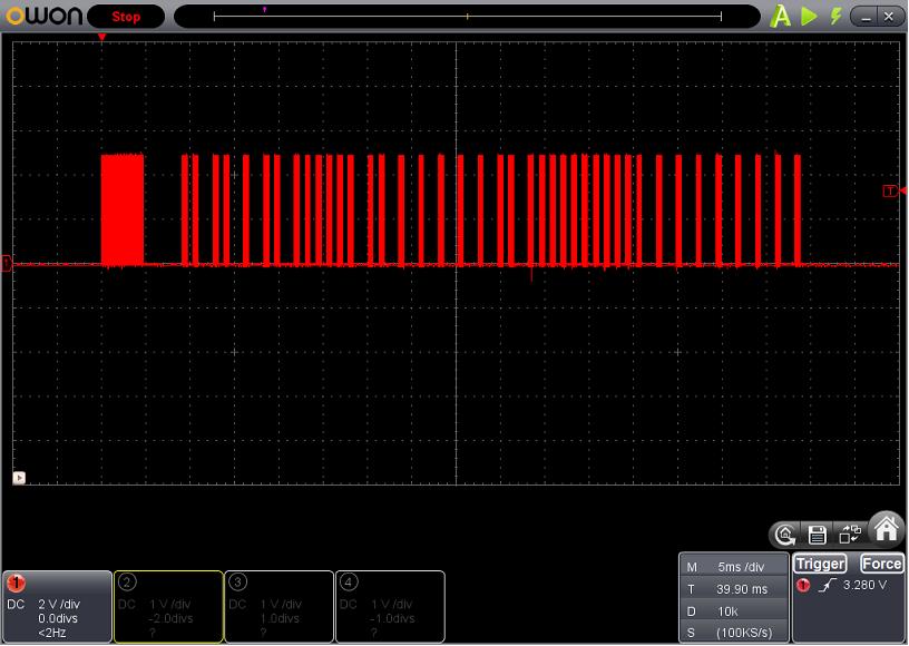 サーフボーイの修理波形2