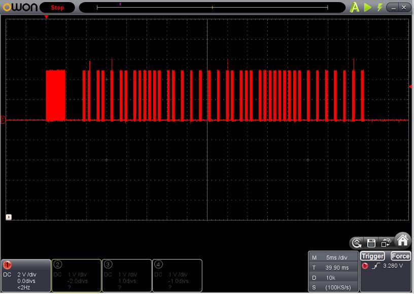 サーフボーイの修理波形3