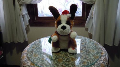 犬のおもちゃの修理(電子オルゴール換装)治療後