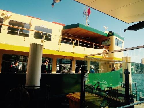 Ferry to Taronga