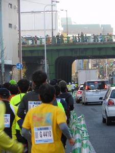 靖国通り×曙橋
