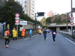 新宿御苑トンネル入口