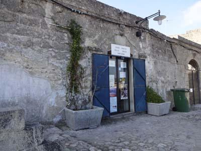 カーサ・グロッタ入口