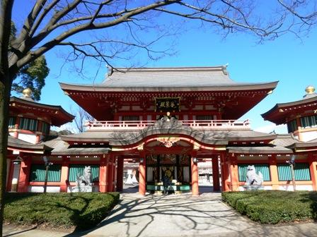 千葉神社①