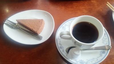 HOTコーヒー&ケーキ