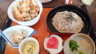 海鮮天丼セット
