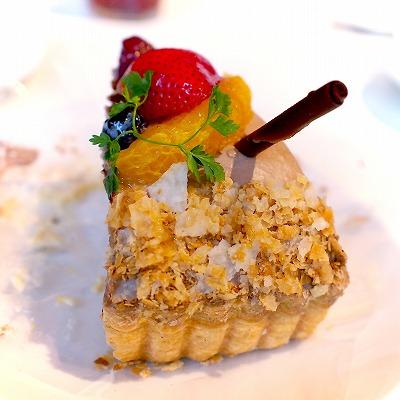 苺とオレンジショコラの冬ミルフィーユ04@MACARONI MARKET(マカロニ市場) 松戸店 2015年11月