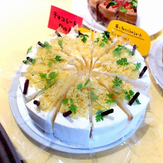 栗のショートケーキ01@MACARONI MARKET(マカロニ市場) 松戸店 2015年11月