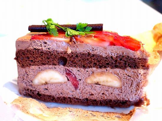苺とチョコバナナショート01@MACARONI MARKET(マカロニ市場) 松戸店 2015年11月